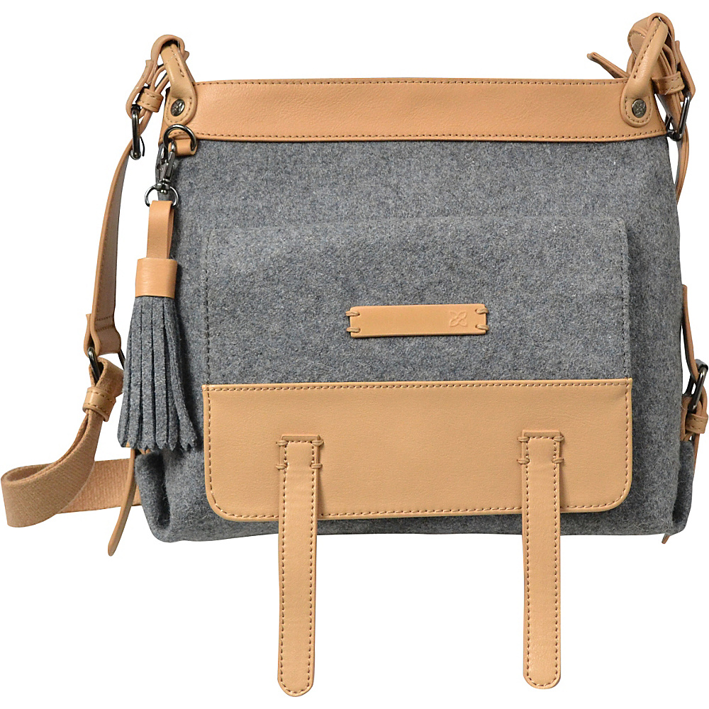 Sherpani Willow Crossbody Boiled Wool Chai Sherpani Fabric Handbags