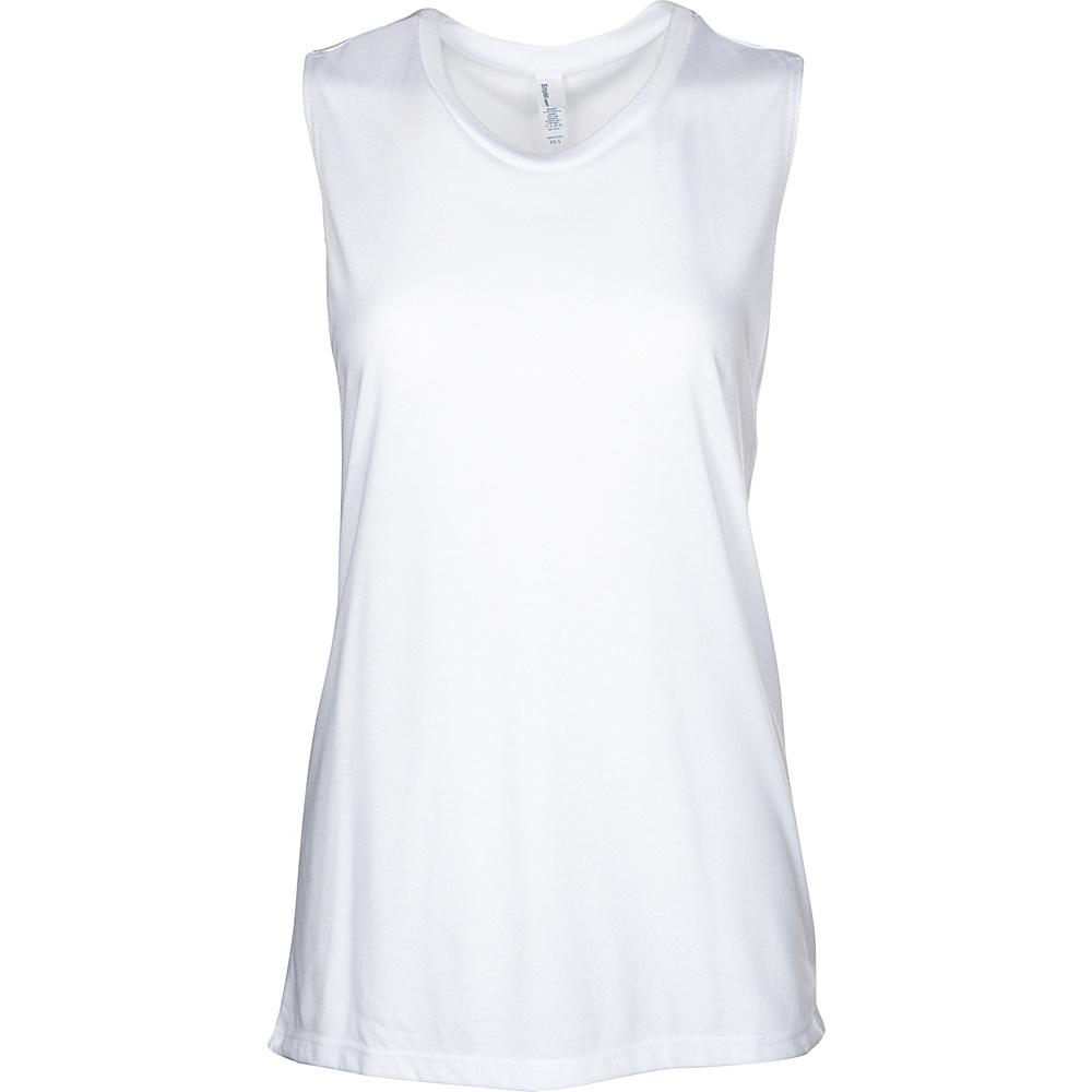 Simplex Apparel Freedom Yoga Tank XS/S - White - XS/S - Simplex Apparel Womens Apparel - Apparel & Footwear, Women's Apparel