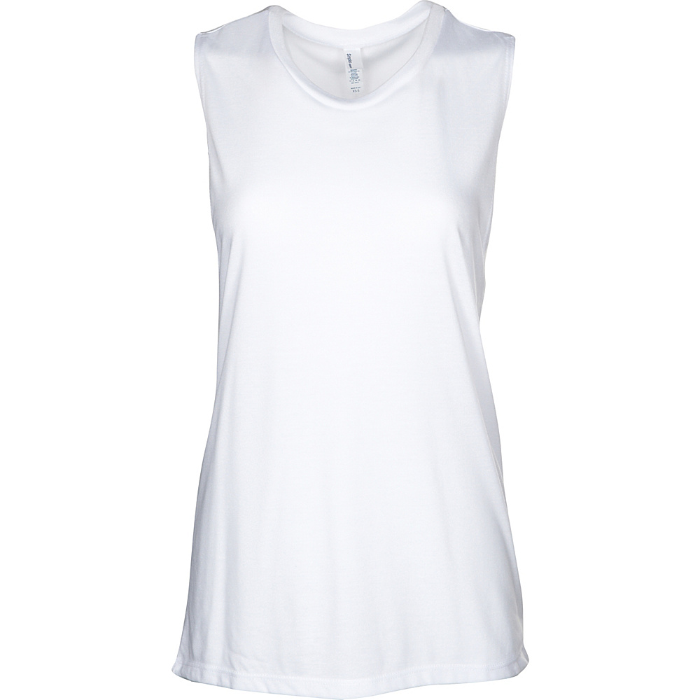 Simplex Apparel Freedom Yoga Tank M/L - White - XS/S - Simplex Apparel Womens Apparel - Apparel & Footwear, Women's Apparel