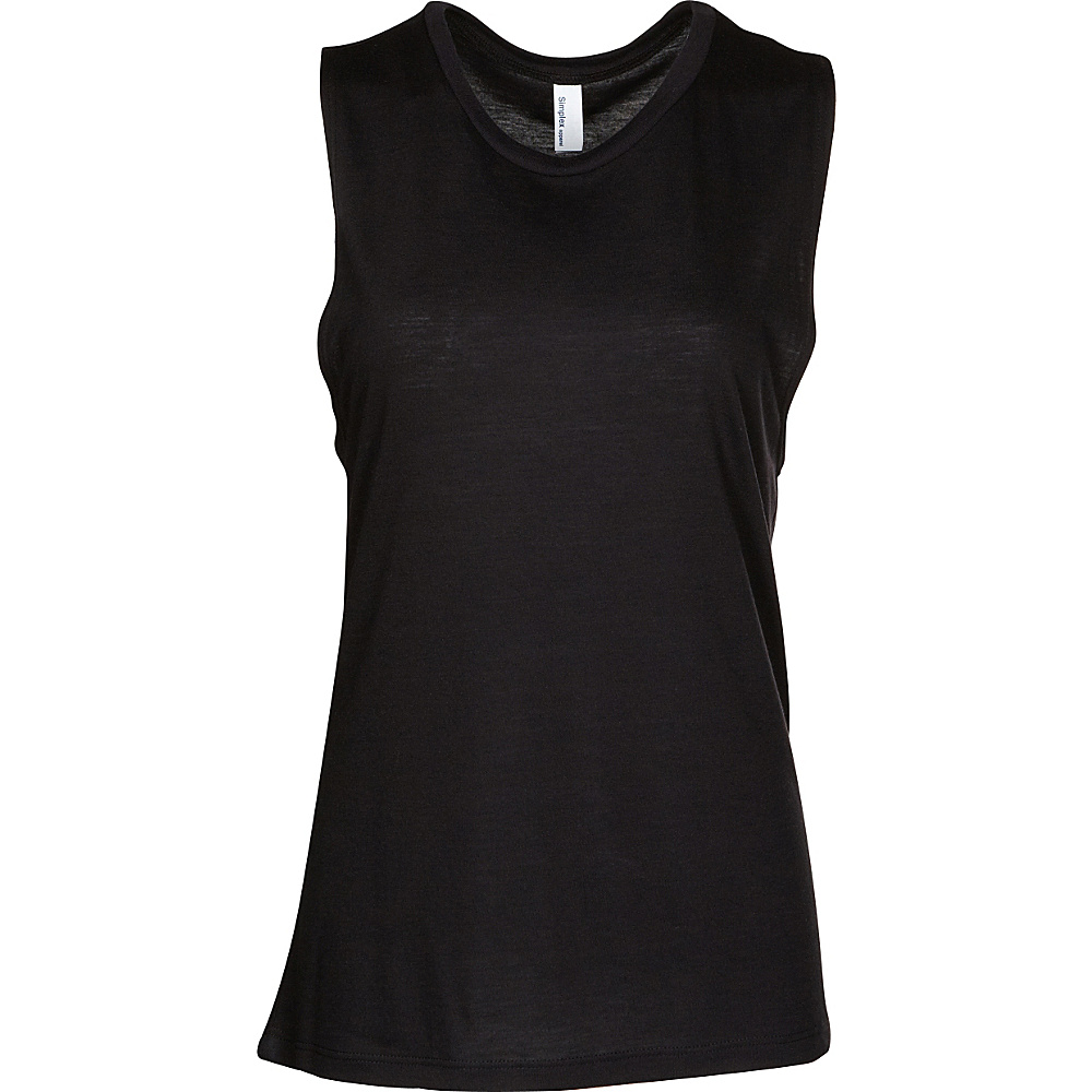Simplex Apparel Freedom Yoga Tank M/L - Black - XS/S - Simplex Apparel Womens Apparel - Apparel & Footwear, Women's Apparel