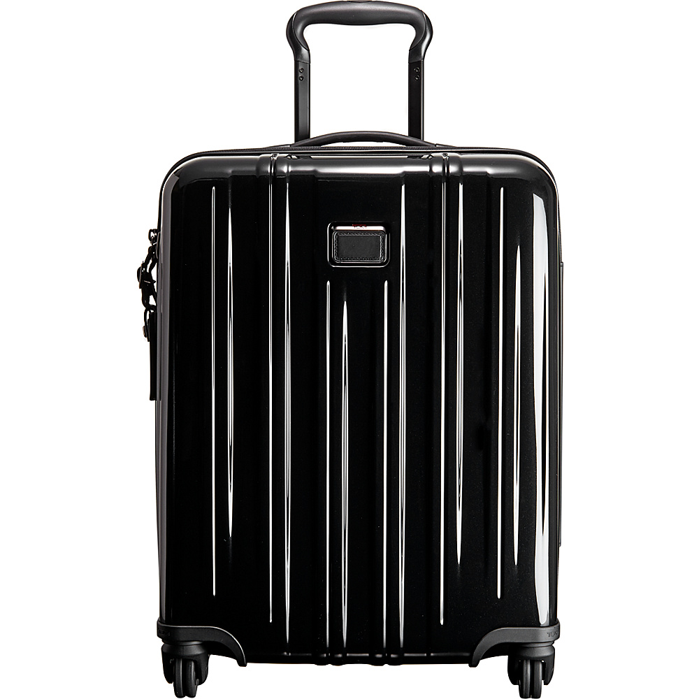 Tumi V3 International Slim Carry On Black - Tumi Hardside Carry-On - Luggage, Hardside Carry-On