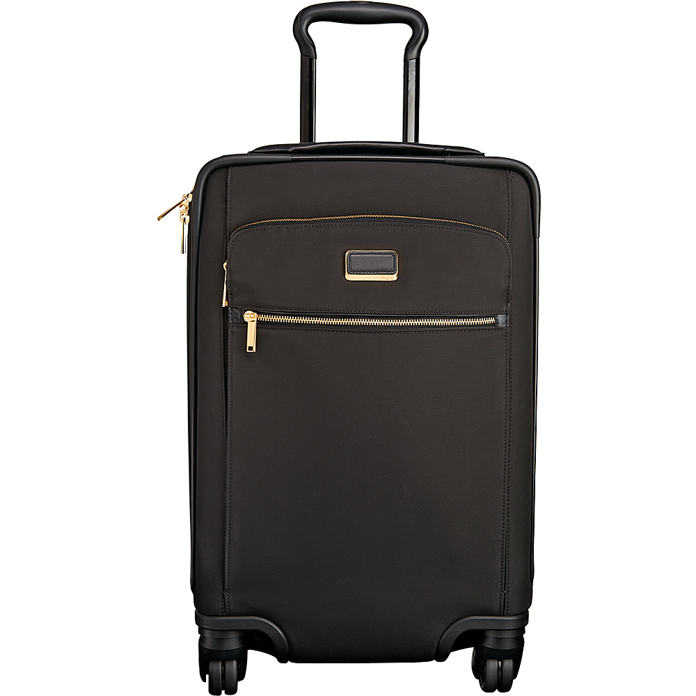 Tumi Larkin Sophie Continental Expandable Carry On Black - Tumi Small Rolling Luggage