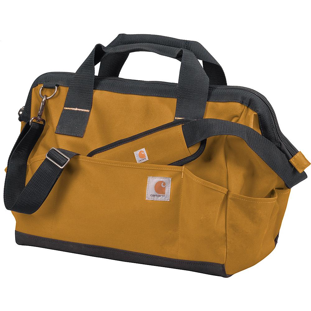 Carhartt Trade Series Large Tool Bag Carhartt Brown Carhartt Travel Duffels