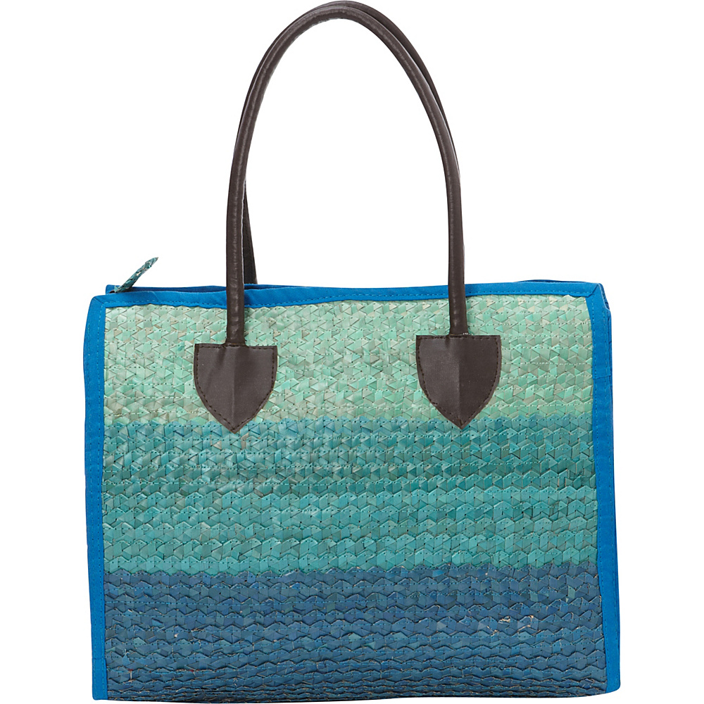 TLC you Balboa Small Tote Multi Blue TLC you Fabric Handbags