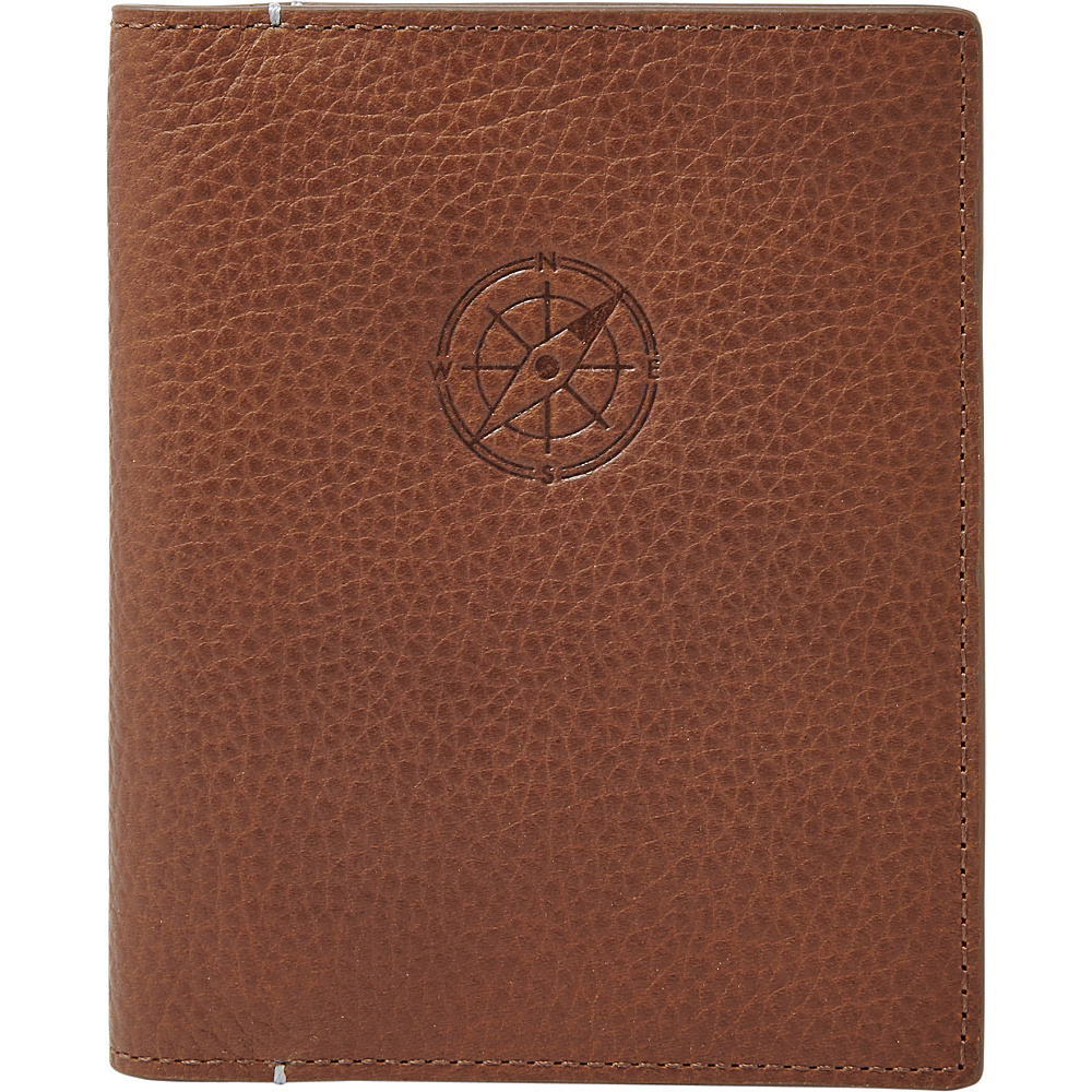 Fossil RFID Passport Case Cognac - Fossil Travel Wallets