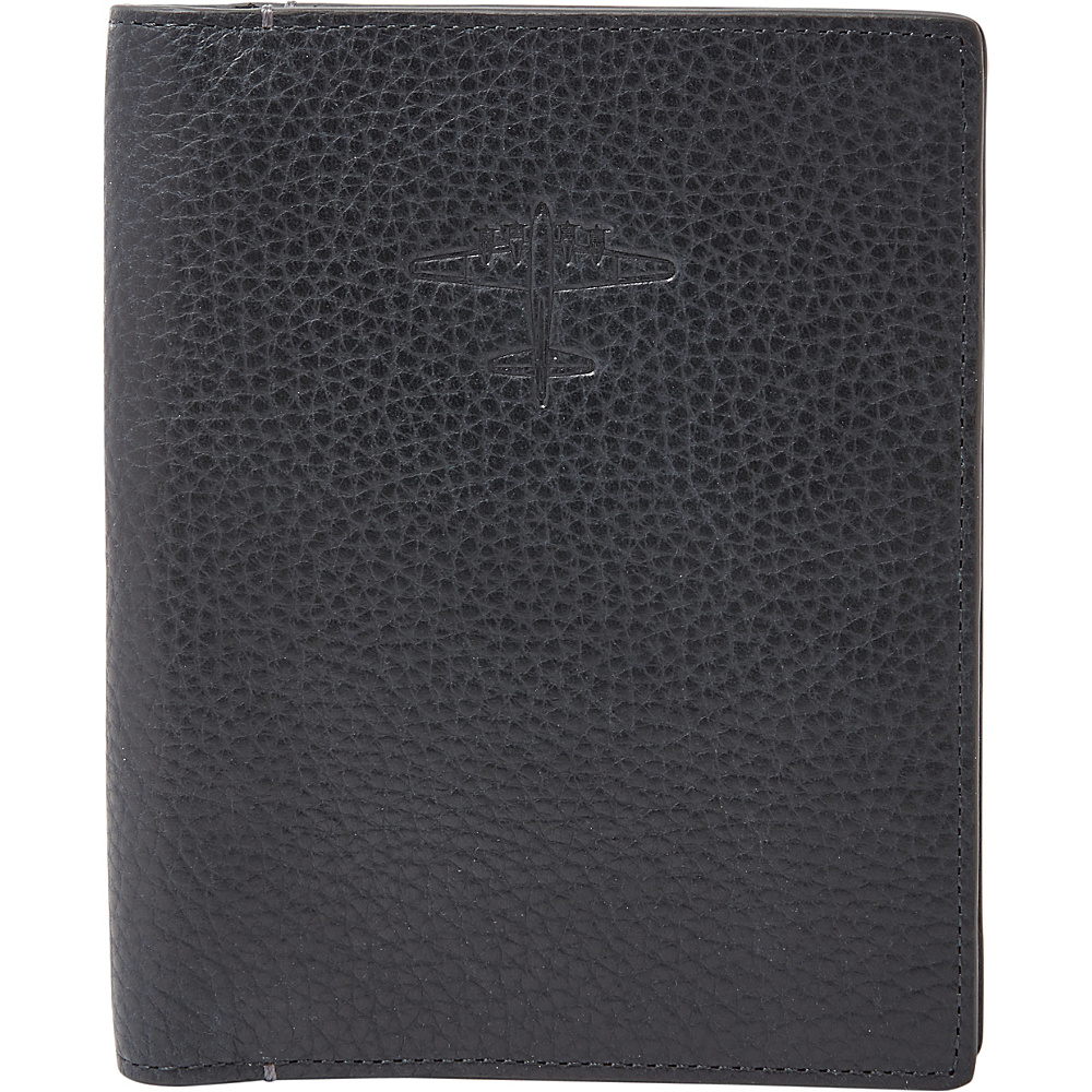Fossil RFID Passport Case Navy - Fossil Travel Wallets