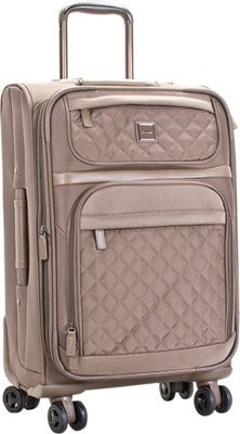 Calvin Klein Luggage Hawthorne 24 Upright Truffle - Calvin Klein Luggage Softside Checked