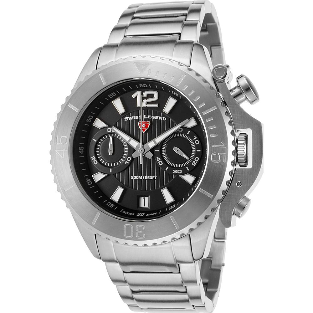 Swiss Legend Watches Scorpion Chronograph Srainless Steel Watch Silver - Swiss Legend Watches Watches