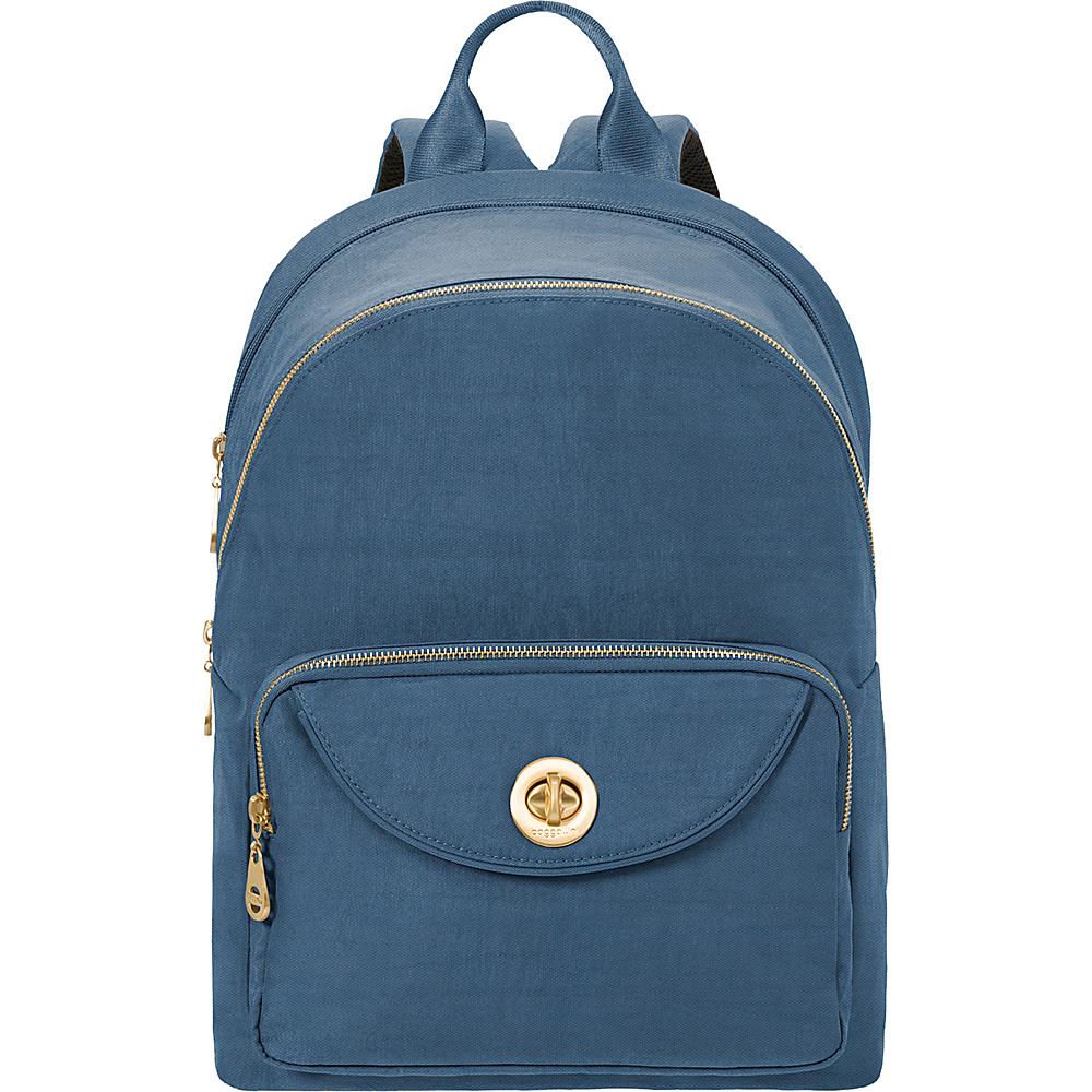 baggallini Brussels Laptop Backpack Slate Blue - baggallini Business & Laptop Backpacks - Backpacks, Business & Laptop Backpacks