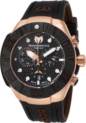 technomarine watches mens black reef chronograph ebay