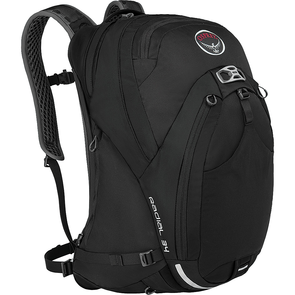 Osprey Radial 34 Cycling Backpack Black - S/M - Osprey Cycling Bags - Sports, Cycling Bags