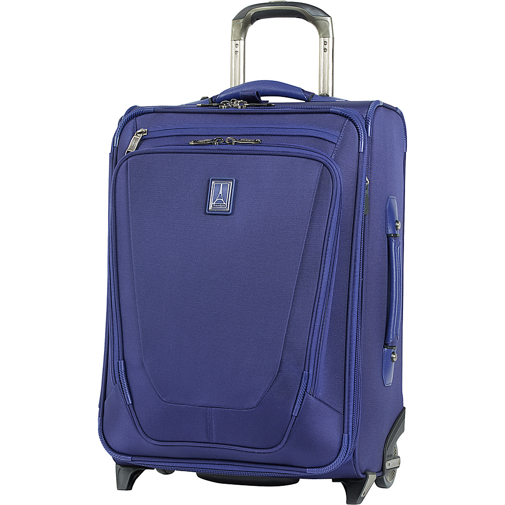 "Travelpro Crew 11 22"" Expandable Upright Suiter Purple - Travelpro Softside Carry-On"