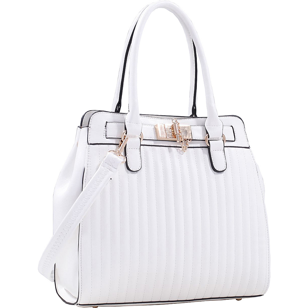 MKF Collection Pessy Handbag White - MKF Collection Gym Bags - Sports, Gym Bags