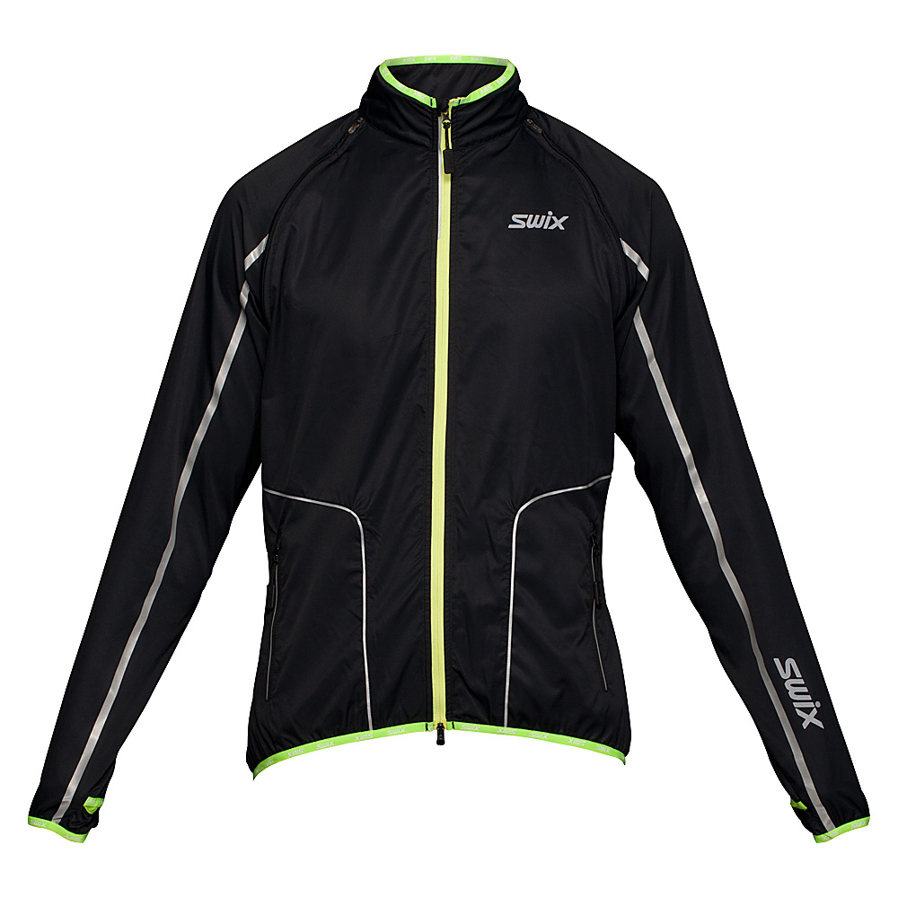 Swix Mens Cyclon 2 In 1 Jacket L Black Swix Men s Apparel