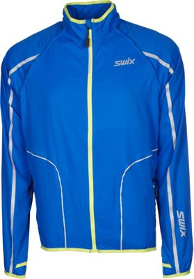 Swix Mens Cyclon 2 In 1 Jacket XL - Royal - Swix Men's Apparel