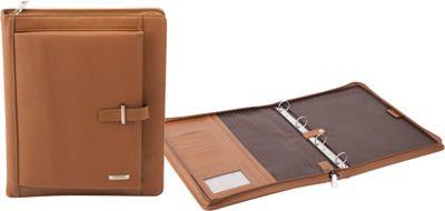Numinous London A4 Leather Folio Wallet Brown - Numinous London Business Accessories