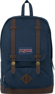JanSport Cortlandt Backpack- Sale Colors Navy - JanSport Everyday Backpacks