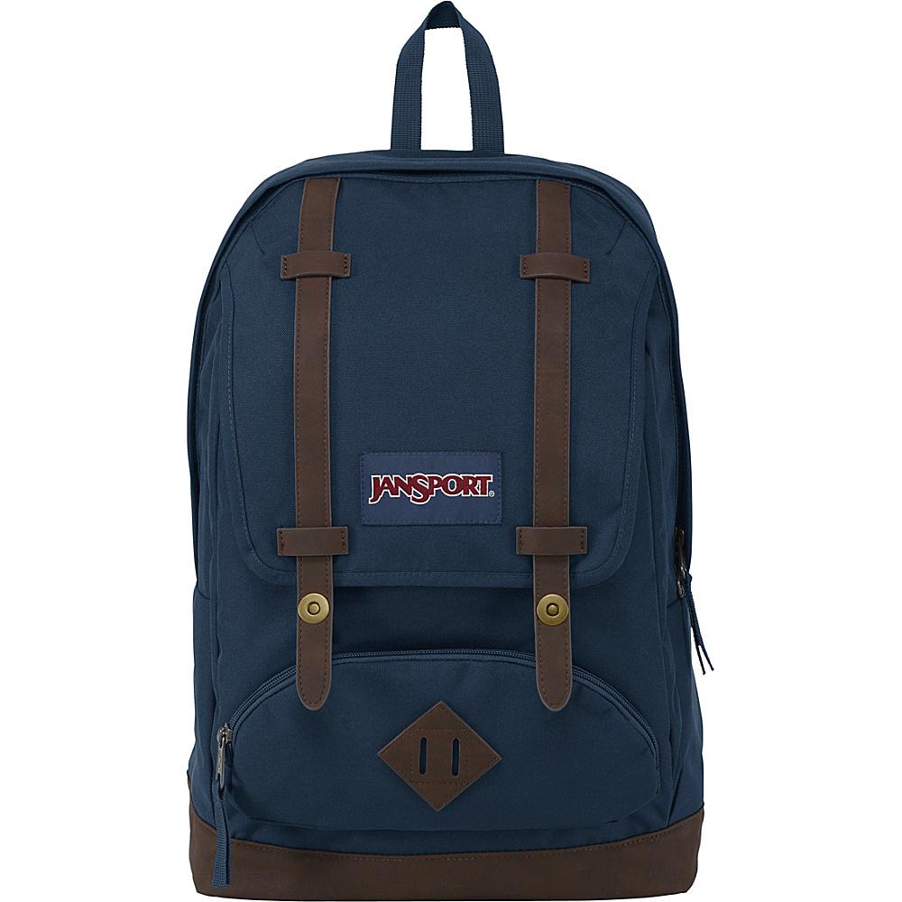 JanSport Cortlandt Backpack- Discontinued Colors Navy - JanSport Everyday Backpacks - Backpacks, Everyday Backpacks