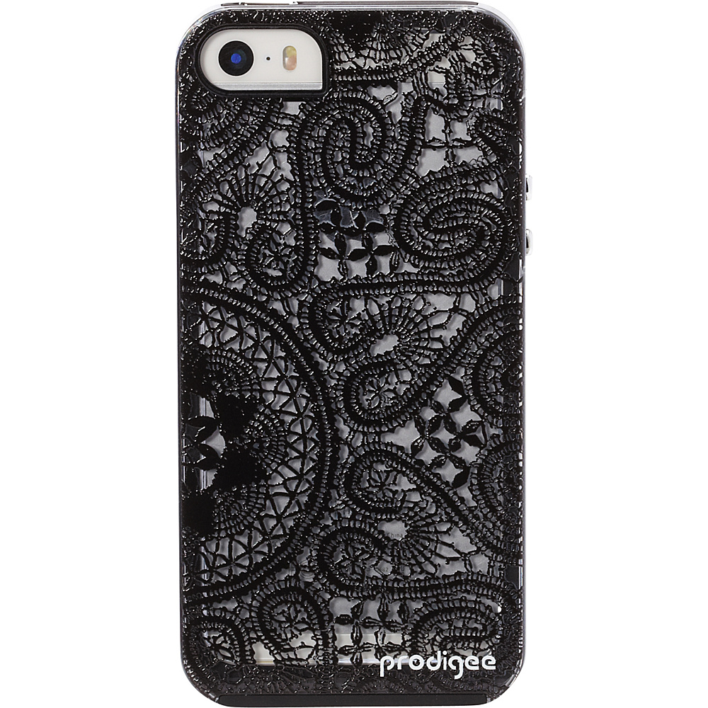Prodigee Scene Case for iPhone 5 5s SE Lace Black Prodigee Electronic Cases