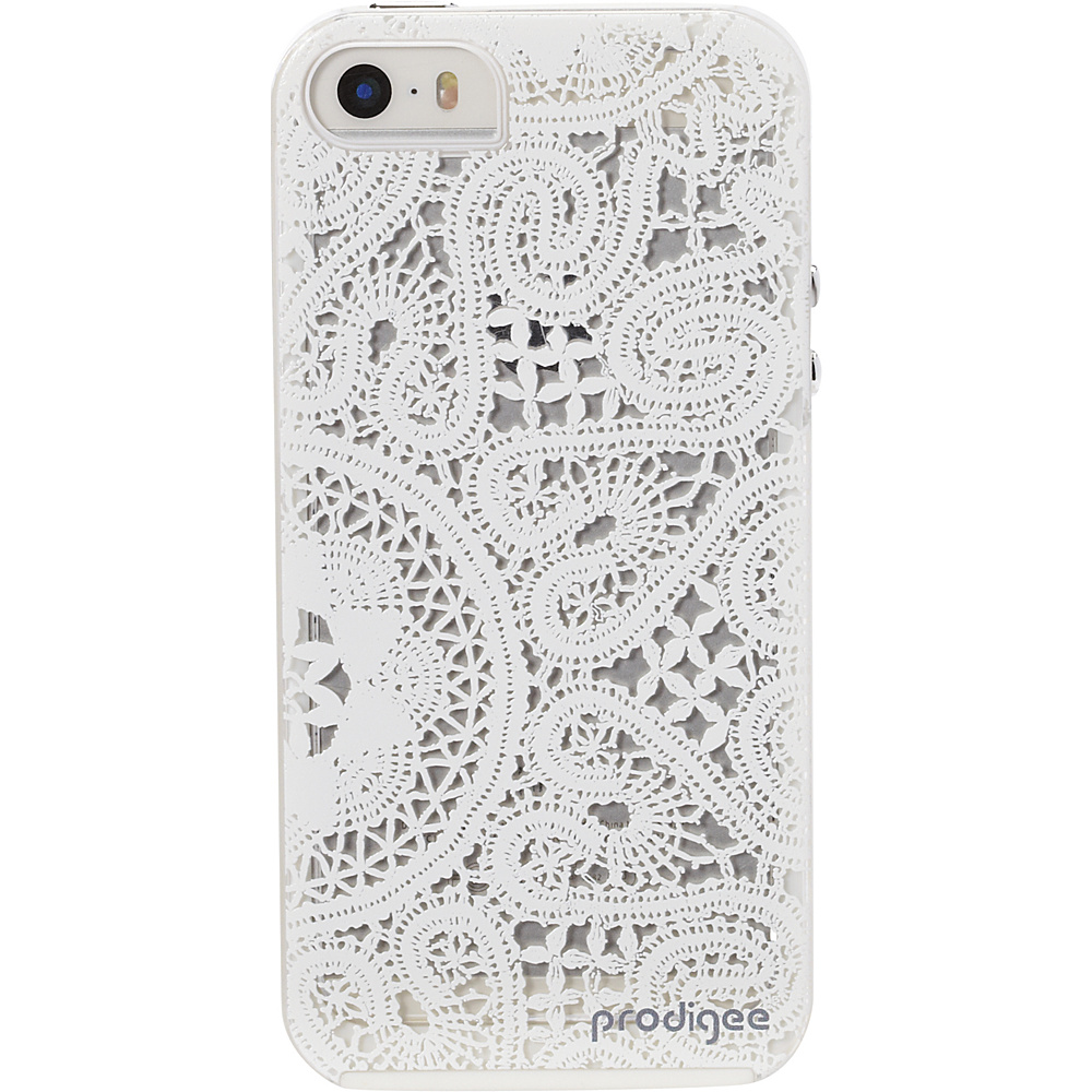 Prodigee Scene Case for iPhone 5 5s SE Lace White Prodigee Electronic Cases