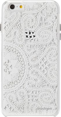 Prodigee Show-Lace Case for iPhone  6 Plus/6s Plus Lace White - Prodigee Electronic Cases
