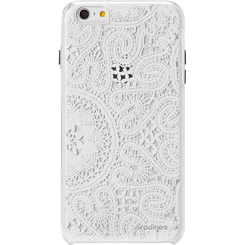 Prodigee Show Lace Case for iPhone 6 Plus 6s Plus Lace White Prodigee Electronic Cases