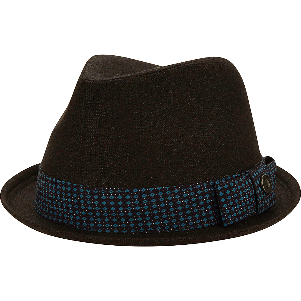 Ben Sherman Textured Trilby Hat Staples Navy-S/M - Ben Sherman Hats/Gloves/Scarves