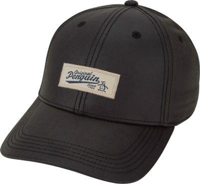 Original Penguin Waxed Fabric Baseball Cap Black - Original Penguin Hats/Gloves/Scarves 10472198
