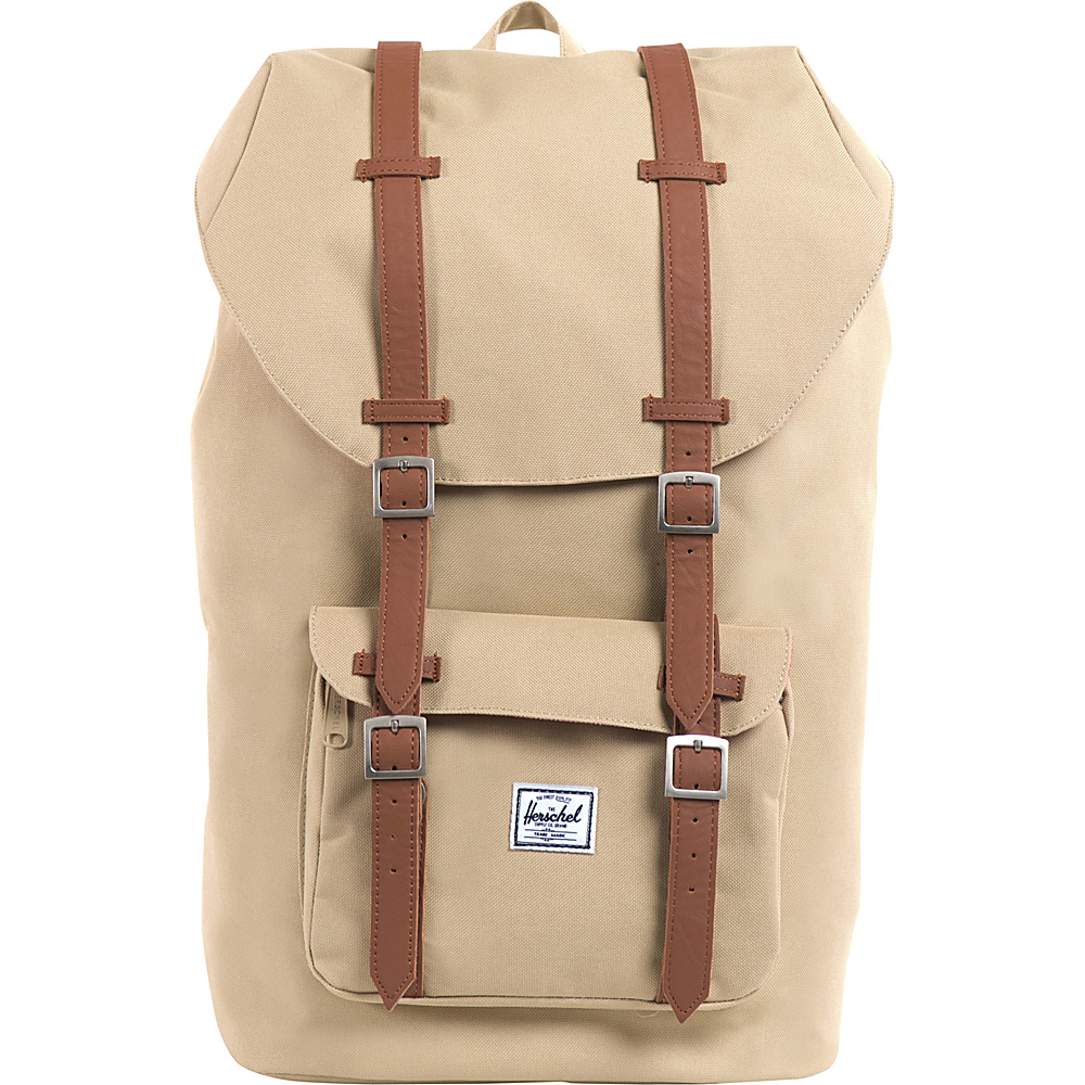 Herschel Supply Co. Little America Laptop Backpack- Discontinued Colors Khaki - Herschel Supply Co. Business & Laptop Backpacks