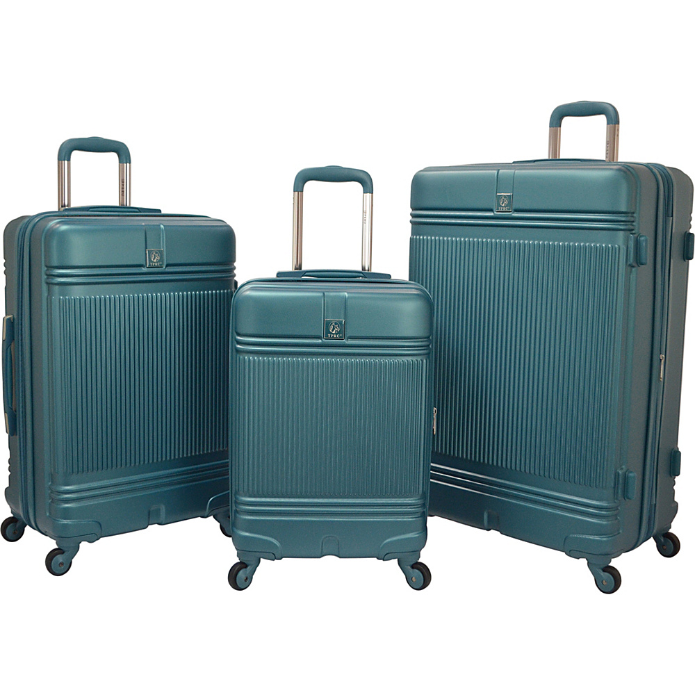 Travelers Club Luggage Accent 3-Piece Hardside Luggage Set