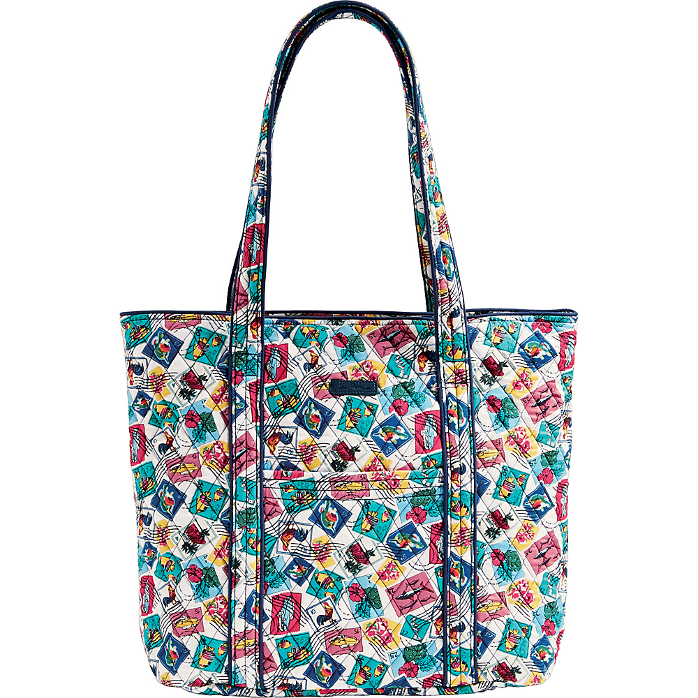 Vera Bradley Vera 2.0 - Retired Prints Cuban Stamps - Vera Bradley Fabric Handbags - Handbags, Fabric Handbags