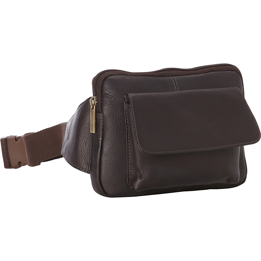Le Donne Leather Journey Waist Bag Cafe - Le Donne Leather Waist Packs - Backpacks, Waist Packs