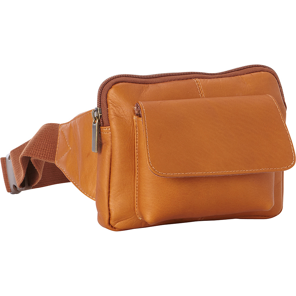 Le Donne Leather Journey Waist Bag Tan - Le Donne Leather Waist Packs - Backpacks, Waist Packs