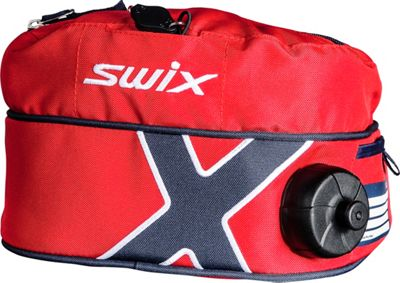 Swix Small Drink Belt Red - Swix Hydration Packs and Bottles