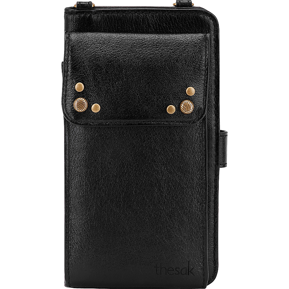 The Sak Sanibel Phone Wallet Black Onyx The Sak Women s Wallets