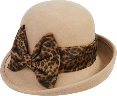 Adora Hats Wool Felt Cloche Hat Camel - Adora Hats Hats