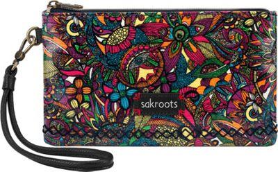 Sakroots Artist Circle Phone Charging Wristlet Rainbow Spirit Desert - Sakroots Fabric Handbags