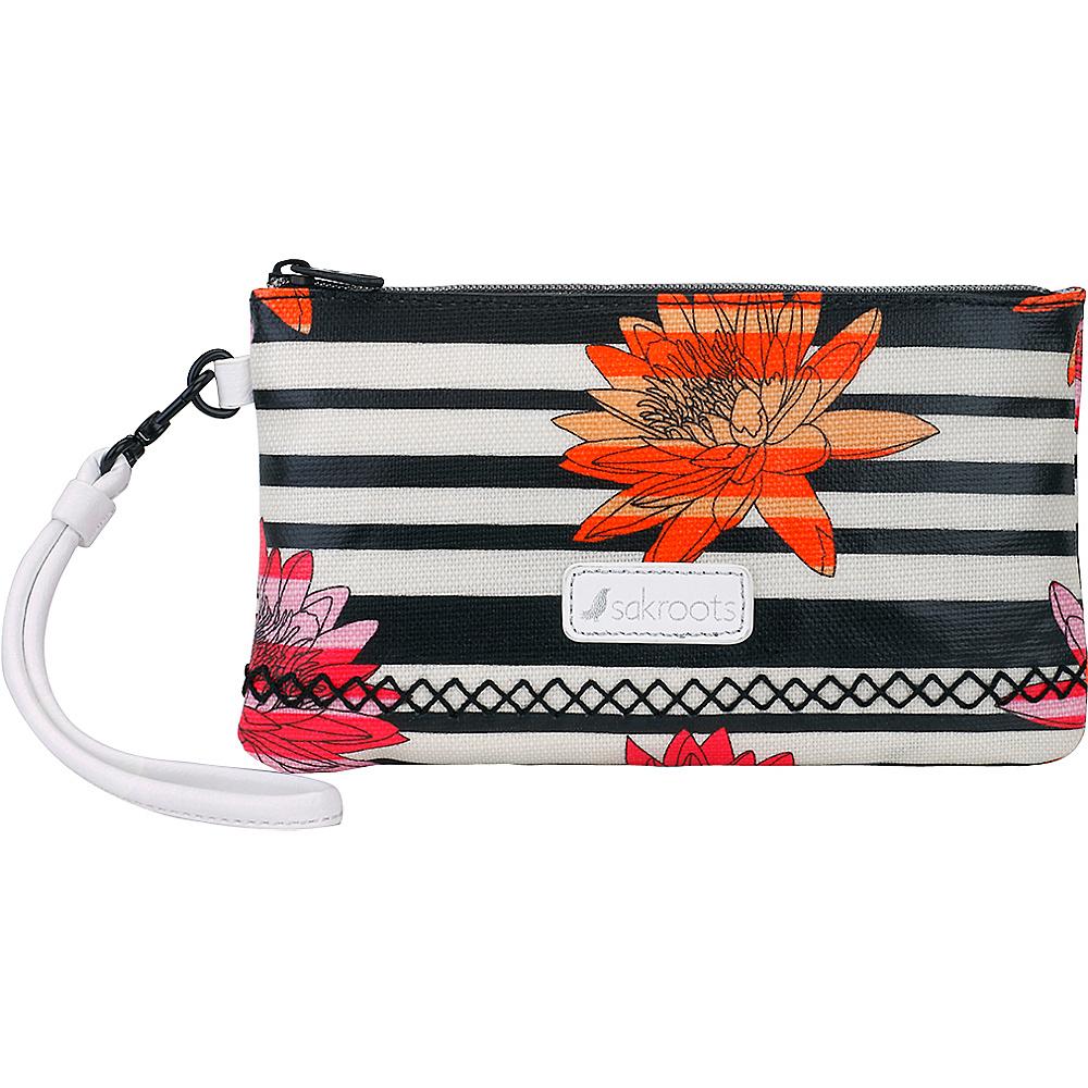 Sakroots Artist Circle Phone Charging Wristlet Neon Zen Flower - Sakroots Fabric Handbags - Handbags, Fabric Handbags