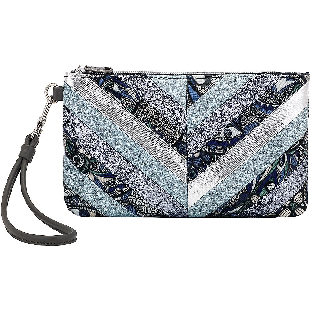 Sakroots Artist Circle Phone Charging Wristlet Blue Steel Spirit Desert - Sakroots Fabric Handbags - Handbags, Fabric Handbags