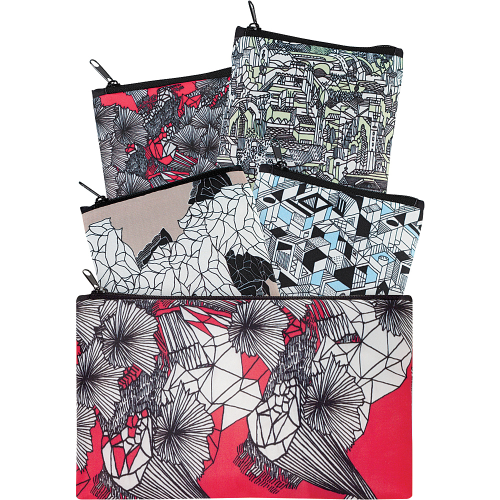 LOQI Collection Pockets Tote Pen Art - LOQI All-Purpose Totes