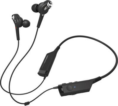 Audio Technica ATH-ANC40BT  QuietPoint Wireless In-Ear Headphones Black - Audio Technica Headphones & Speakers