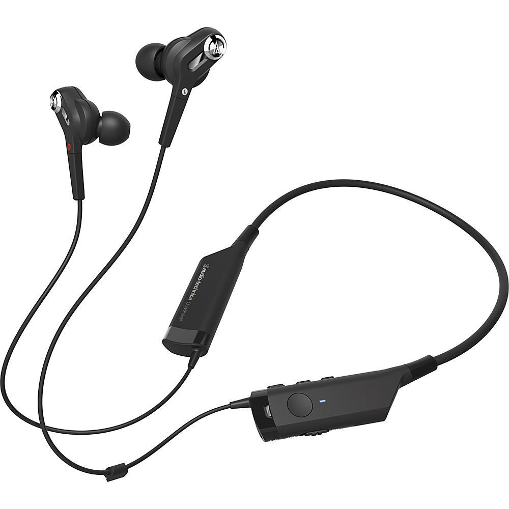 Audio Technica ATH ANC40BT QuietPoint Wireless In Ear Headphones Black Audio Technica Headphones Speakers