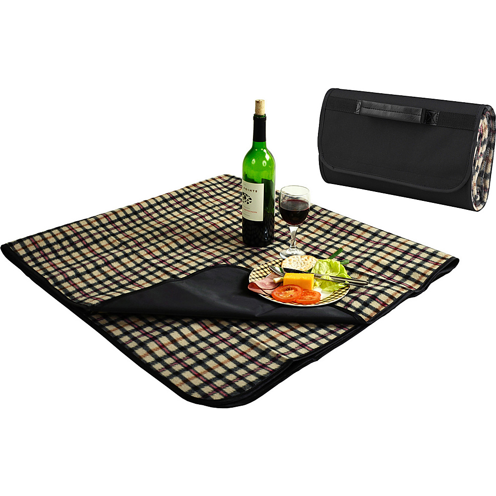 Picnic at Ascot Outdoor Picnic Blanket with Waterproof Backing  58 x 53 London Plaid - Picnic at Ascot Outdoor Accessories - Outdoor, Outdoor Accessories