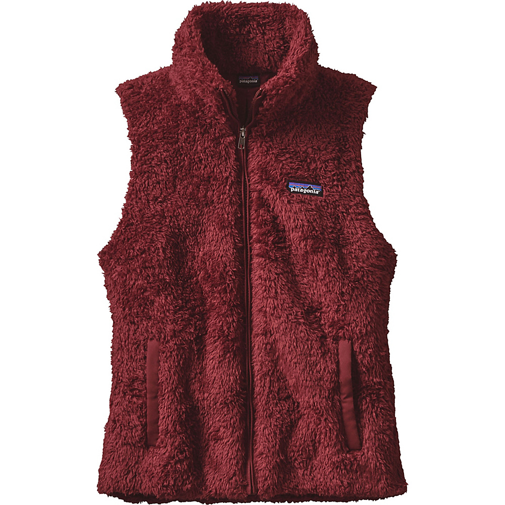Patagonia Womens Los Gatos Vest S - Drumfire Red - Patagonia Womens Apparel - Apparel & Footwear, Women's Apparel