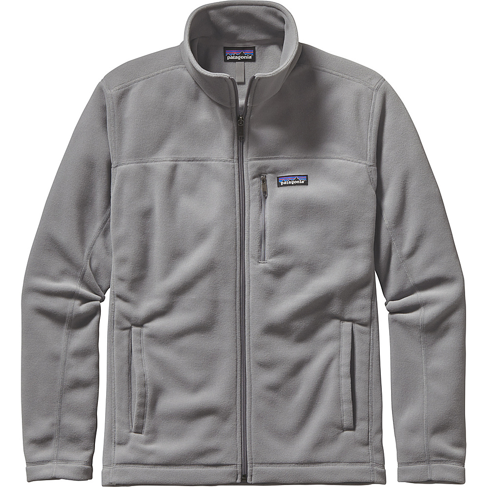 Patagonia Mens Micro D Jacket XS - Light Feather Grey - Patagonia Mens Apparel - Apparel & Footwear, Men's Apparel