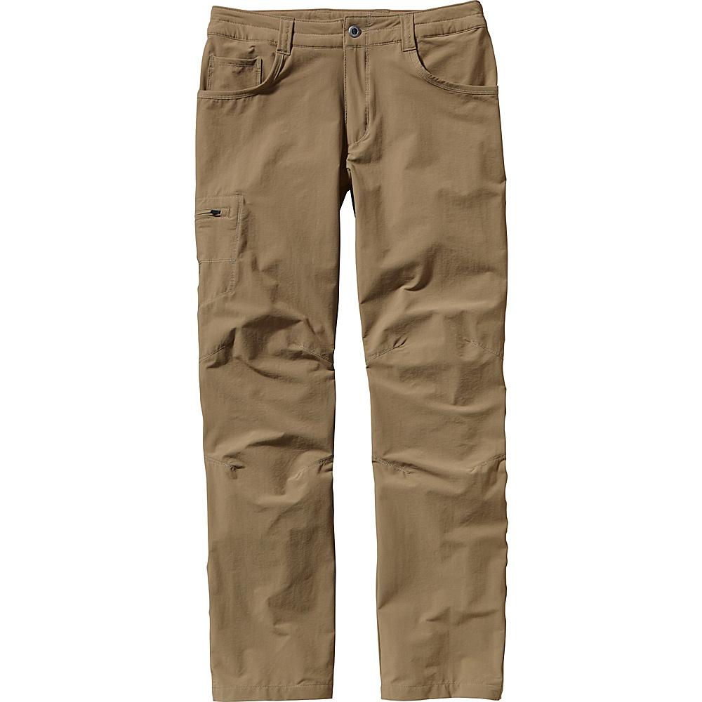Patagonia Mens Quandary Pants 40 - Short - Ash Tan - Patagonia Mens Apparel - Apparel & Footwear, Men's Apparel