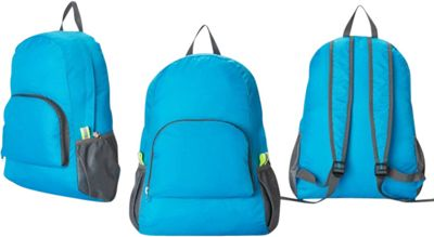 Koolulu Foldable Travel Backpack Blue - Koolulu Everyday Backpacks