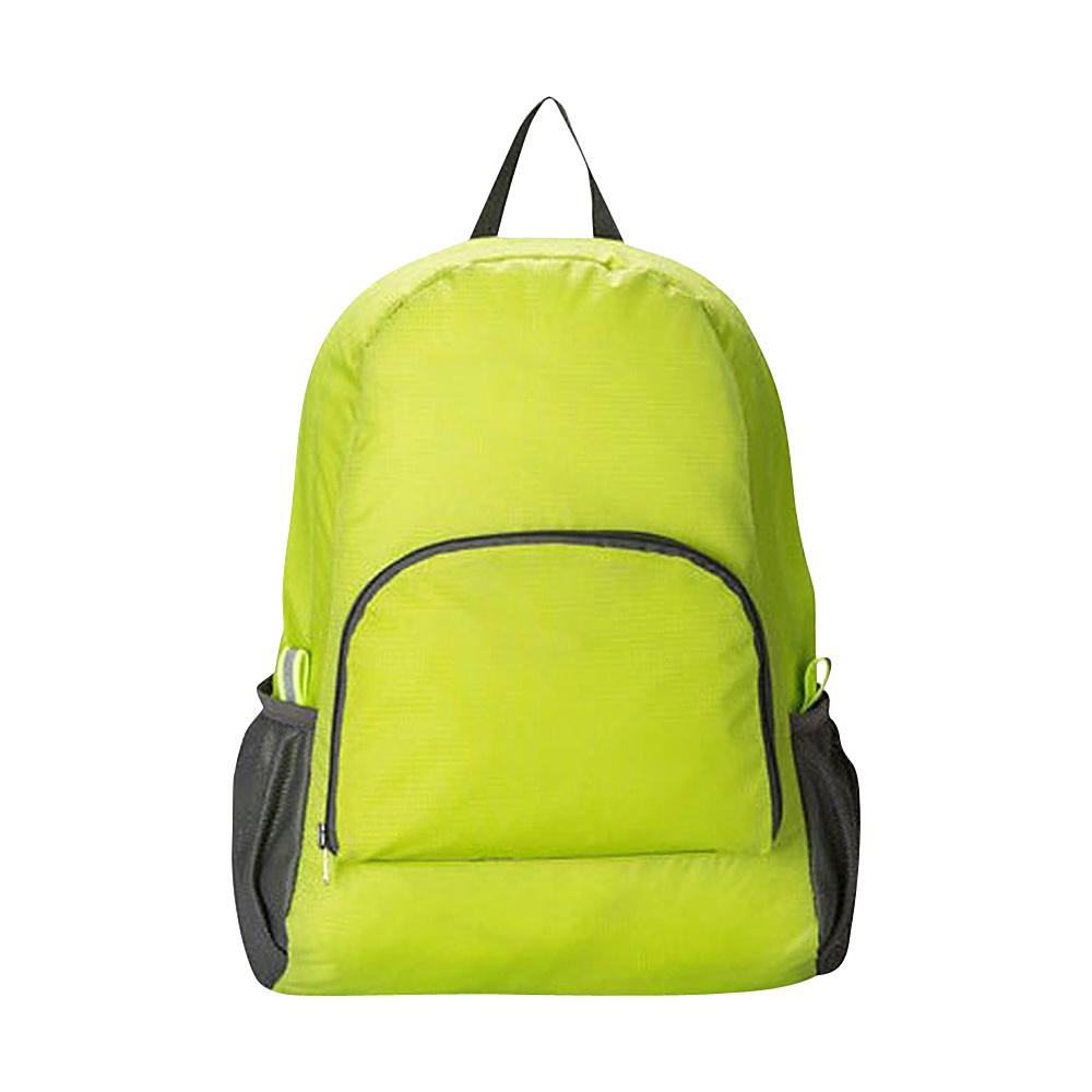 Koolulu Foldable Travel Backpack Green Koolulu Everyday Backpacks