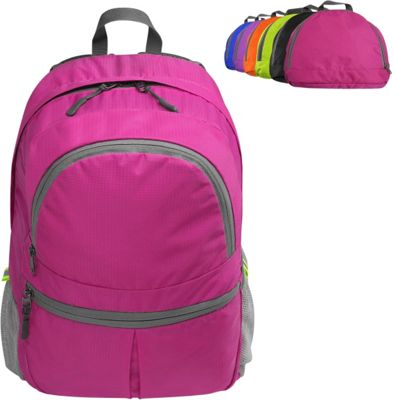 Koolulu Foldable Travel Backpack Hot Pink - Koolulu Everyday Backpacks