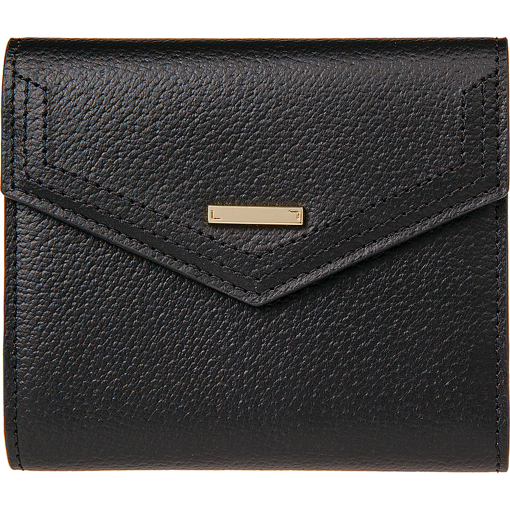 Lodis Stephanie Under Lock and Key Lana French Purse Black - Lodis Womens Wallets - Women's SLG, Women's Wallets